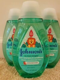 3 new Johnsons baby shampoo conditioner $10 Rockville