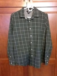 Volcom Dress/Casual Long Sleeve Shirt
