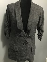 gray button-up coat Brampton, L6V
