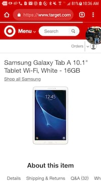 Galaxy tablet  Chicago Heights, 60411