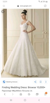 Luna novias wedding dress