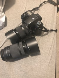 Sony A77 Camera plus 2 lens for sale Toronto, M1H