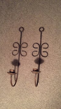 Metal Wall Candle  Holders Aston, 19014
