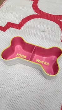 Large ceramic dog food /water dish Mississauga, L5J 1V6