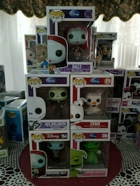 Nightmare before Christmas pop funko collection  Cathedral City, 92234