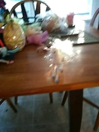 brown wooden table with chairs Springfield, 97477