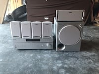 Sony stereo system with 5 speakers and base Lynnwood, 98087