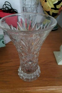 clear cut-glass vase Ceres, 95307