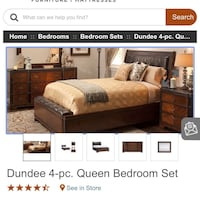 Bedroom set with mattress Fall River, 02720