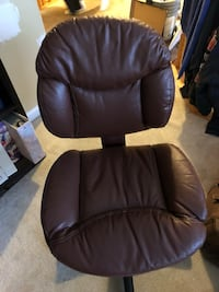 Brown leather office chair Germantown, 20874