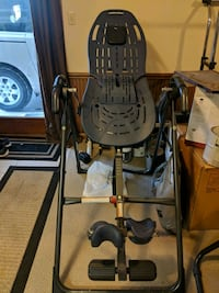black and gray inversion table McMurray