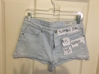 Brand new Buffalo Jean shorts Vaughan, L4J 5S7