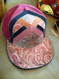 NEW Flat Fitted Corduroy Trucker Hat Sz 7 Santa Cruz, 95062