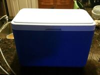 white and blue chest cooler Chesapeake, 23320