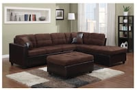 Brown sectional Bakersfield, 93309