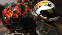 SHOEI and Troy Lee helmets both for 250 Dover, 19901