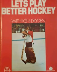 1973 Let's Play Better Hockey by Ken Dryden McDona Newmarket, L3Y 3J3