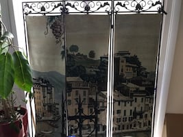 Tapestry Room screen/ divider/ partition