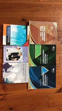 Project/program management books. For pick up only. $40 all 6 books Toronto, M6J