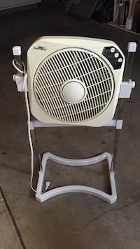 Adjustable white box fan San Jose, 95136