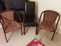 two brown wooden framed armchairs Kitchener, N2A 2Y1