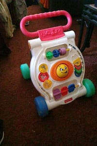 white and pink Fisher Price learning walker Louisville, 40258