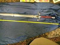 "40"" Dragon Sword with black leather scabbard North Augusta, 29841"
