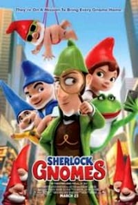 Sherlock Gnomes poster Airdrie, T4A 0G6