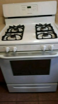 white and black gas range Las Vegas, 89142