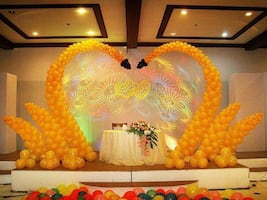 Balloons decorations for all kinds of Events