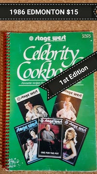 CELEBRITY COOK BOOK Edmonton, T5G 2A4