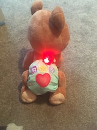 brown bear plush toy with diaper