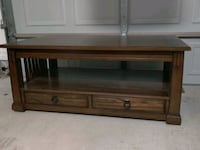Lift Top Table  Brown/Cherry