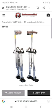 Drywall Stilts Anchorage