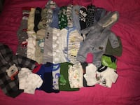 Baby boy clothes nb to 3 mths  Brantford, N3P 1C8