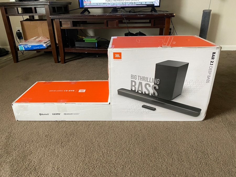 Photo Like new JBL 2.1 Super Bass Sound Bar