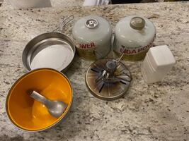 Backpacking stove, fuel (Snow Peak)