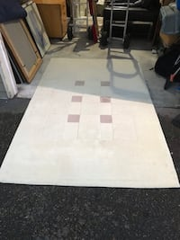 white and brown area rug Burien, 98168