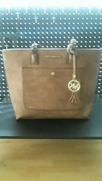 brown Michael Kors leather tote bag West Palm Beach, 33404