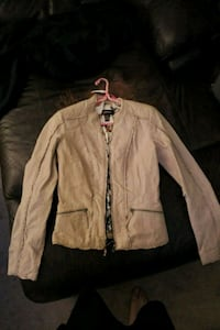 brown zip-up jacket Calgary, T3A 2Z2