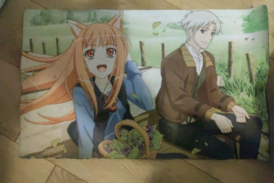Spice and Wolf Anime Playmat c22c0a49-05d4-4110-8b92-bd17169e6599