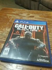 Call of Duty Black Ops 3 PS4 game case Greencastle, 17225
