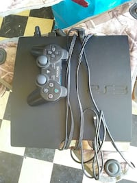 sony ps2 slim console with controller
