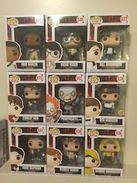 Set of 9 Wave 2 IT Funko Pop Figures  Cambridge, N1P 1A5