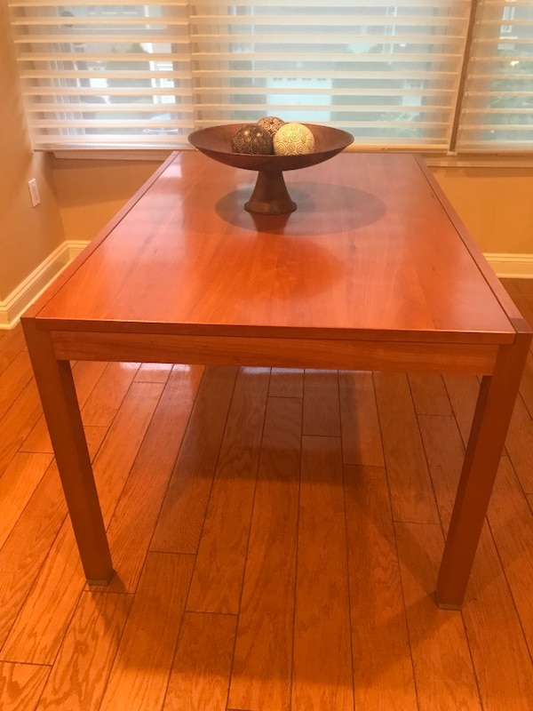 Used Bo Concept Cherry Wood Extension Table For In Weehawken