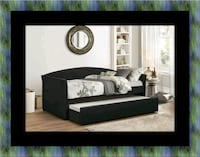 Daybed black with mattress Upper Marlboro, 20772