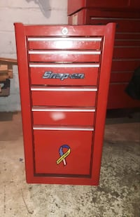 Snap-On....KRA 4820 Series / 6 Drawer End Cab ( Red )
