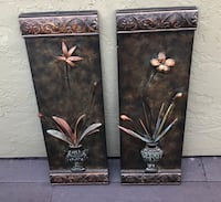 Two floral wall decors Oceanside, 92056