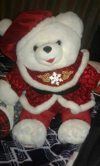 white bear plush toy Peterborough, K9H 3M8