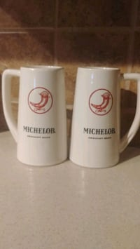 Michelob Draught Beer Steins
